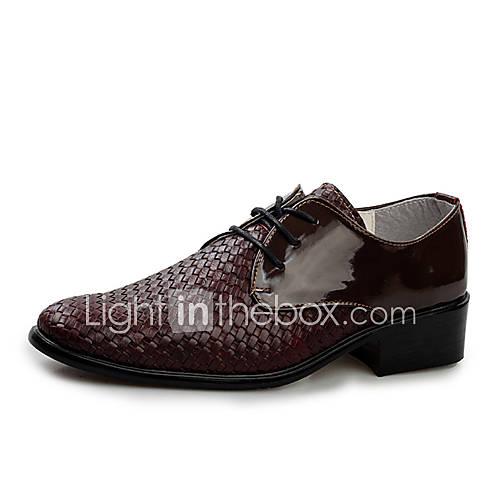 oxfords-pele-preto-marrom-sapatos-de-homem-salto-raso-raso