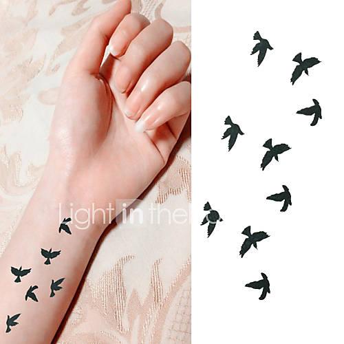 Tatuajes Adhesivos - Non Toxic/Parte Lumbar/Waterproof - Series de Animal - Bebé/Niños/Mujer/Hombre/Adulto/Juventud - Descuento en Lightinthebox