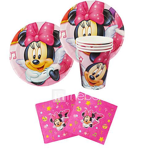 56pcs minnie mouse cumplea os del beb decoraci n for Decoracion cumpleanos nino 6 anos