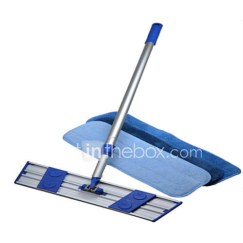 Commercial Mop : Commercial Aluminum Mop Kit Swivel Floor/dust Mop+ 3 Microfiber Mops ...