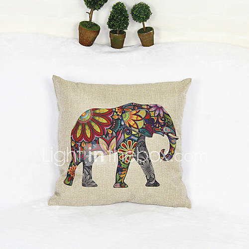 Creative elephant style pillowcase sofa home decor cushion cover 17 17 inch 3353248 2016 Elephant home decor items