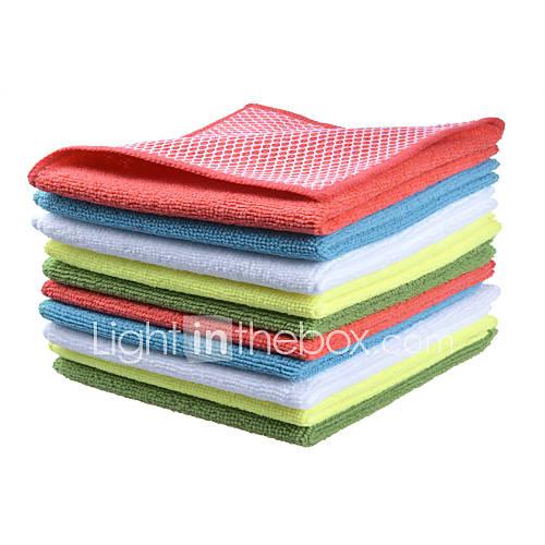 Microfiber Dish Rags: Sinland Microfiber Dish Cloth Best Kitchen Cloths Cleaning