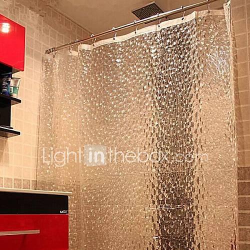 Ca nica gruesa es la cortina de ducha de diamantes peva - Cortina para ducha ...