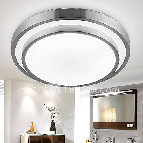 Flush Mount Lights LED 18W Bathroom Kitchen Light Round