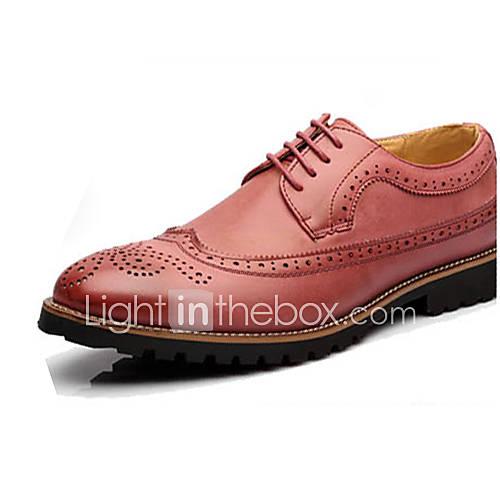 Zapatos de hombre oxfords oficina y trabajo casual for Zapatos de trabajo blancos