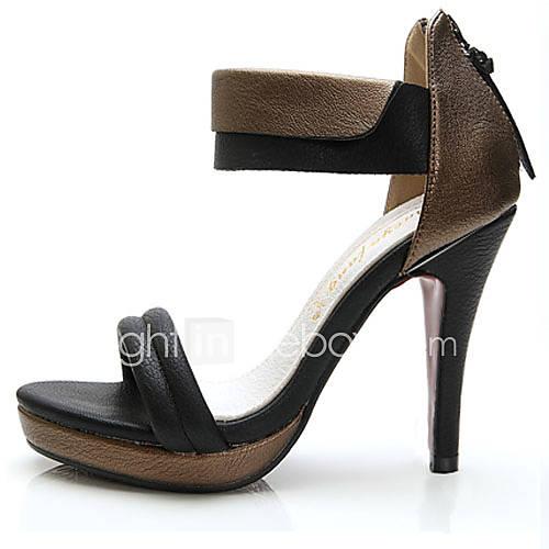 s shoes leather stiletto heel heels slingback