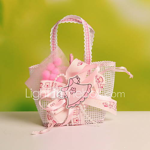Wedding Favor Bags With Ribbon : Ribbon Decorative Wedding Candy Favor Bags Portable Favor Gift Bags ...