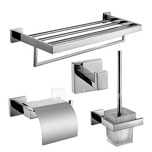Set de accesorios de ba o soporte para papel higi nico for Soporte para bano