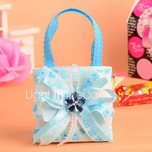 Non Woven Fabric Baby Shower Candy Favor Bags Wedding Favor Bag Set Of 12 3698202 2016 799