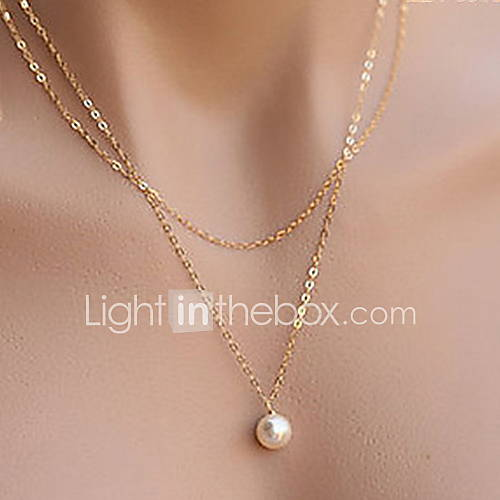 Collar Aniversario/Boda/Pedida/Cumpleaños/Regalo/Fiesta/Diario/Ocasión especial/Oficina Aleación De mujeres Descuento en Lightinthebox