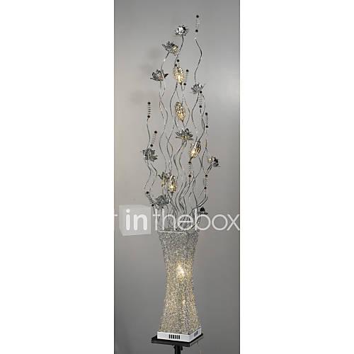floor lamps crystal led arc modern comtemporary. Black Bedroom Furniture Sets. Home Design Ideas