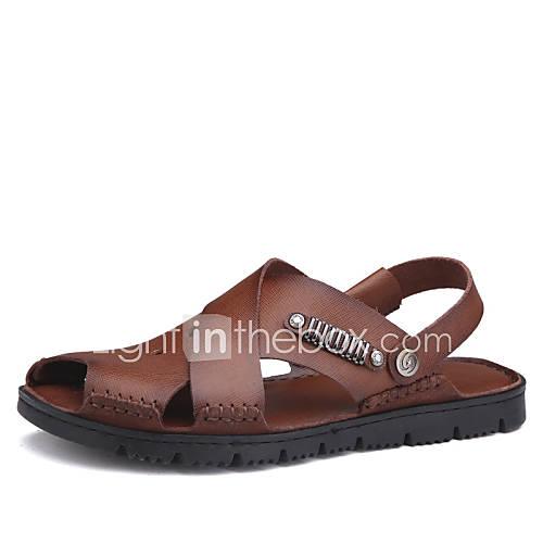 Zapatos de hombre sandalias oficina y trabajo casual - Zapatos de trabajo ...