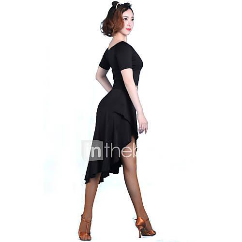 danca-latina-vestidos-mulheres-actuacao-treino-fibra-de-leite-1-peca-manga-curta-vestidos-m105-106-l105-106