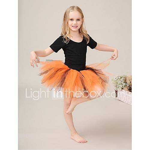 Tutus jupes d 39 orange tulle lycra spectacle danse for Danse de salon pour enfant