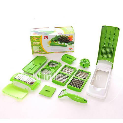 gadget-de-cozinha-criativo-multidisturbio-shredder-uso-todos-os-dias-11pcs-set
