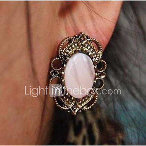 Купить пирсинг серьги женские старинные кружева драгоценный камень за 214 руб. Характеристики Мода Moon клип серьги