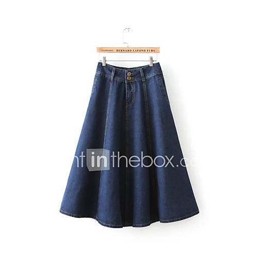 s casual maxi skirt vintage denim skirt skirts