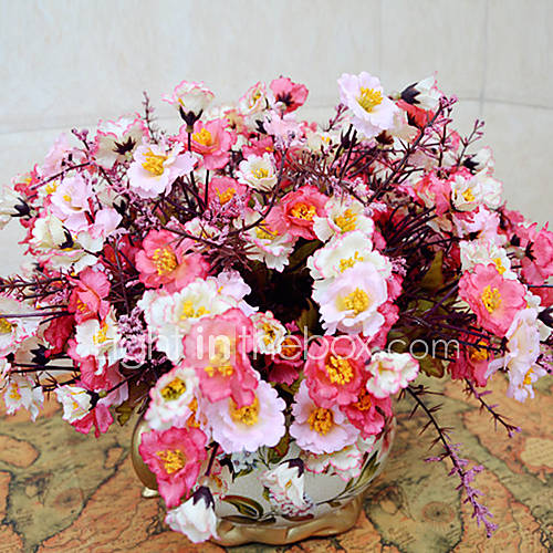 de haute qualit fleur artificielle lumineuse couleurs de pivoine fleur de soie pour le mariage. Black Bedroom Furniture Sets. Home Design Ideas