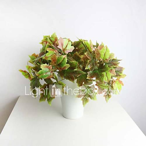 11 8 hoja de arce artificiales de alta calidad para la - Plantas artificiales para decoracion ...