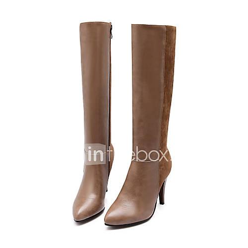 s shoes leatherette stiletto heel heels boots