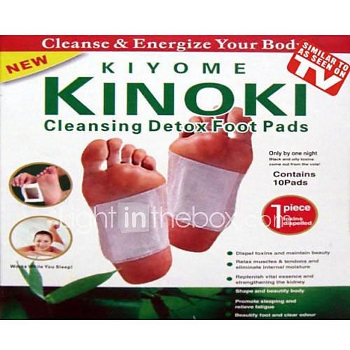 Cuerpo Completo / Pie Soporta almohadillas de las patas Precauciones de Lavado / Detox / Estimular el reciclaje de la sangre 10pads Descuento en Lightinthebox