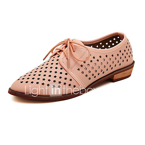 s shoes flat heel pointed toe oxfords casual