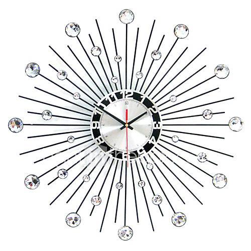 reloj de pared de hierro redondo moderno Descuento en Lightinthebox