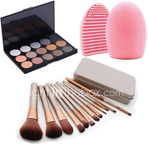12pcs-maquiagem-cosmeticos-caixa-de-ferramenta-de-blush-fundacao-jogo-de-escova-15colors-do-shimmer-paleta-da-sombra-1pcs-ferramenta