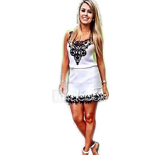 robe aux femmes gaine grandes tailles sexy d contract mignon imprim a bretelles au. Black Bedroom Furniture Sets. Home Design Ideas