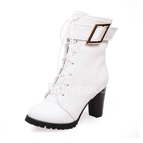 s shoes chunky heel combat boots toe boots