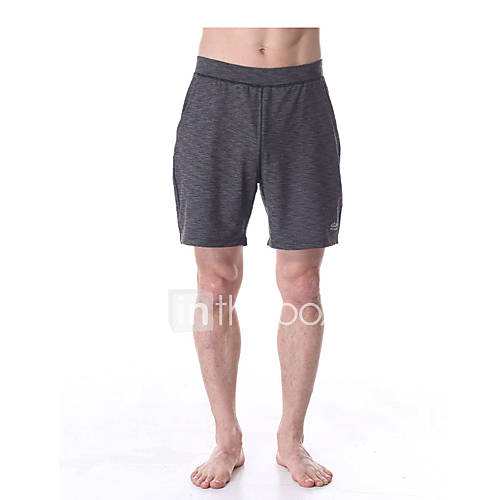 Baggy shorts blanc rouge gris yoga pilates fitness homme respirable s chage rapide - Meche rouge homme ...