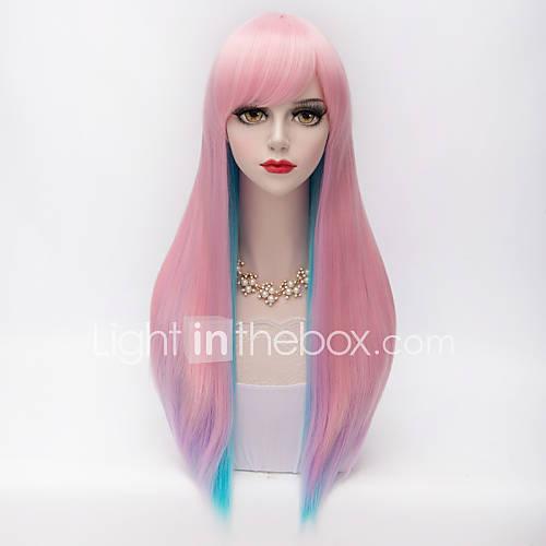harajuku-fashion-dois-tons-longo-estrondo-completa-reta-cabelo-azulgradiente-rosa-lolita-sintetico-mulheres-partido-peruca