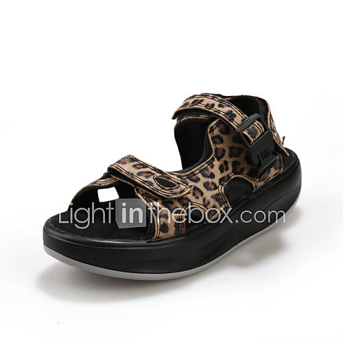 damenschuhe sandalen outddor kunstleder plateau. Black Bedroom Furniture Sets. Home Design Ideas