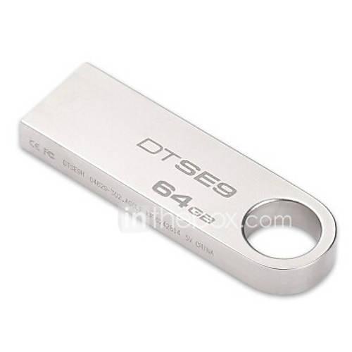 kingston-dtse9-originais-64gb-pen-drive-flash-usb-de-metal