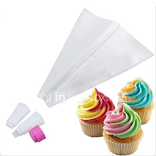 Cake Decorating Icing Bag : Two-toned Double Color Icing Piping Bag Frosting Cupcake ...
