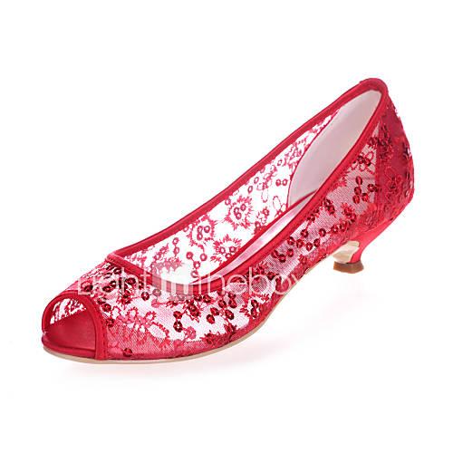 Women's Shoes Low Heel Peep Toe Sandals Wedding/Party