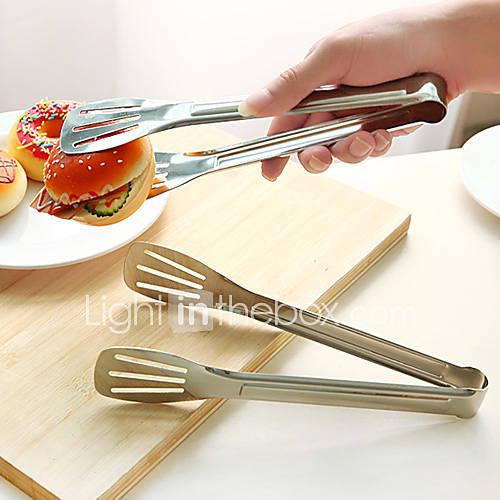 Acero inoxidable que sirve pinzas utensilios de cocina for Utensilios cocina acero inoxidable