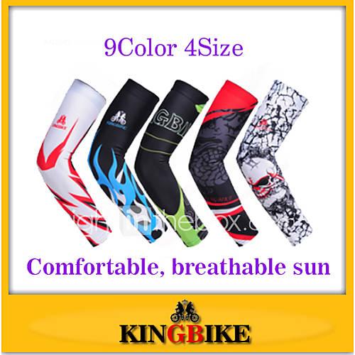 Manguitos BicicletaTranspirable / Resistente al Viento / Resistente a los UV / A prueba de insectos / Listo para vestir / Alta Lightinthebox