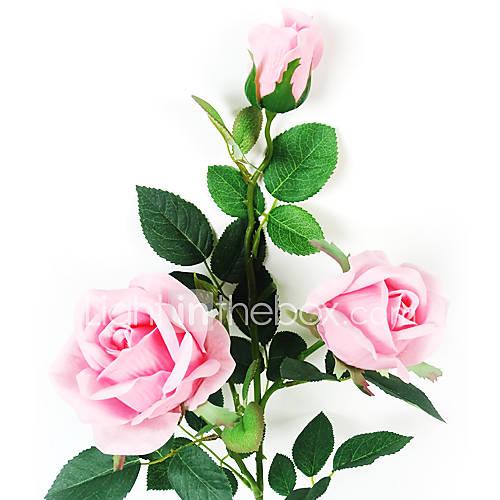 3 k pfe der bestnote rosen in kunststoff k nstliche blume f r hauptdekoration 2er set 4340191. Black Bedroom Furniture Sets. Home Design Ideas