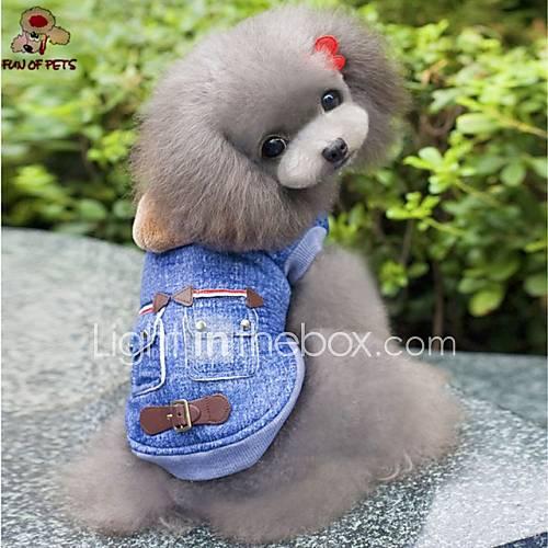 cachorro-camisola-com-capuz-jaquetas-jeans-roupas-para-caes-vaqueiro-fashion-jeans-azul-ocasioes-especiais-para-animais-de-estimacao