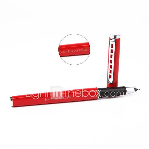 canetas-presente-personalizado-vermelho-de-aco-inoxidavel