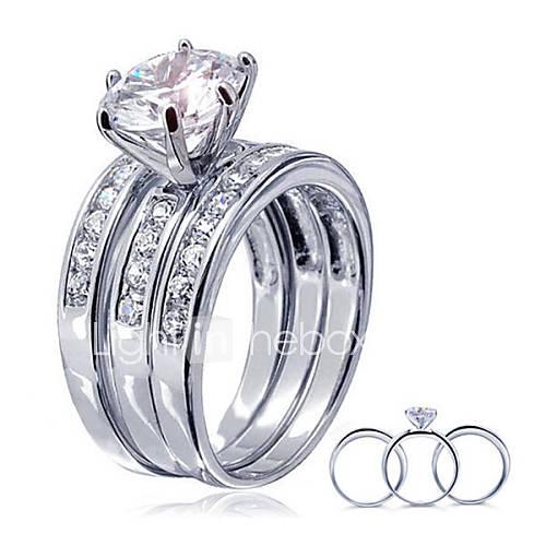 925 Sterling Silver Women New Korean Jewelry Zircon Women Rings High End Diamond Engagement Ring