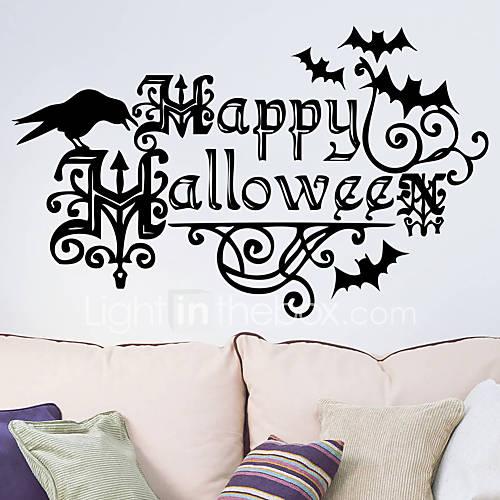 Halloween Wall Stickers Art Decals Halloween Decoration