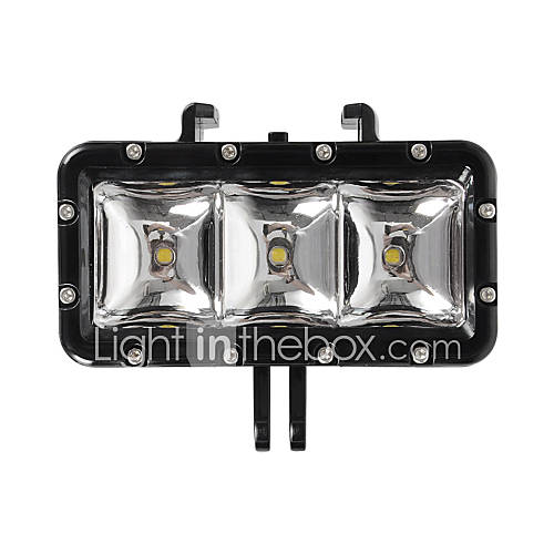 Accesorios para GoPro Luz del punto del LED Impermeable, Para-Cámara acción,Xiaomi Camera / Gopro Hero1 / Gopro Hero 2 / Gopro Hero 3 / Descuento en Lightinthebox