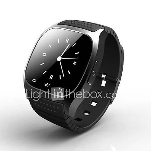 m26 portátil reloj inteligente teléfono inteligente respuesta / llamada / música / sms / tiempo / reloj despertador deporte al aire libre Descuento en Lightinthebox