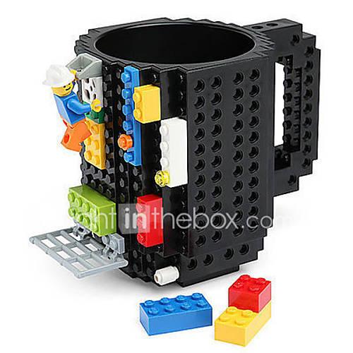 Blocks Mug Build on Brick Block Coffee Tea Beverage Mug Cup Creative Funny Mug Coofee Cup