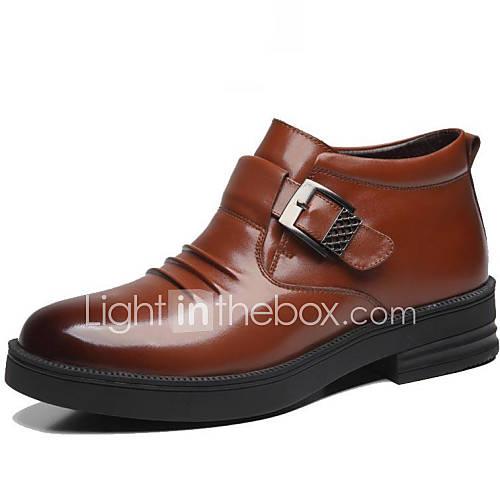 zapatos de hombre botas oficina y trabajo casual