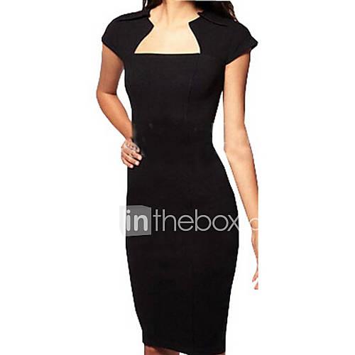 vierkante-hals-katoenmixen-split-tot-de-knie-vrouwen-jurk-korte-mouw