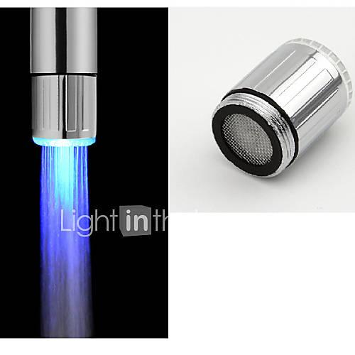 Contemporáneo Grifería de Cocina LED Cepillado Descuento en Lightinthebox