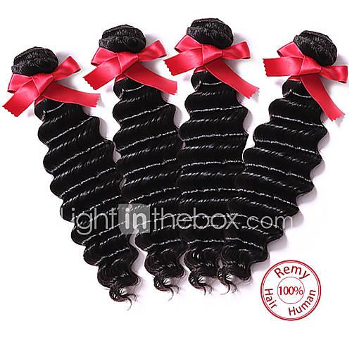 onda profunda peruano virgens budles cabelo humano tramas 7a cores naturais peruanas virgens tecelagens de cabelo profundas